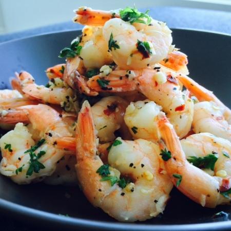 garlic shrimp 9