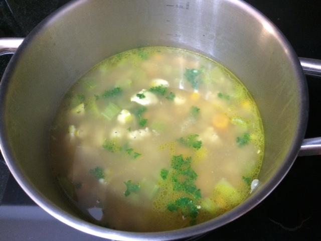 lisa eats chicken noodle soup 5