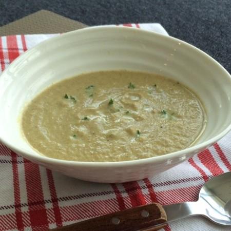 lisa eats mushroom soup