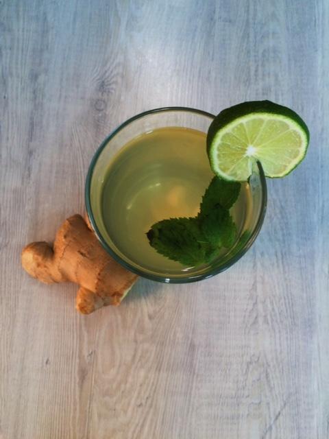 lisa eats ginger water 2