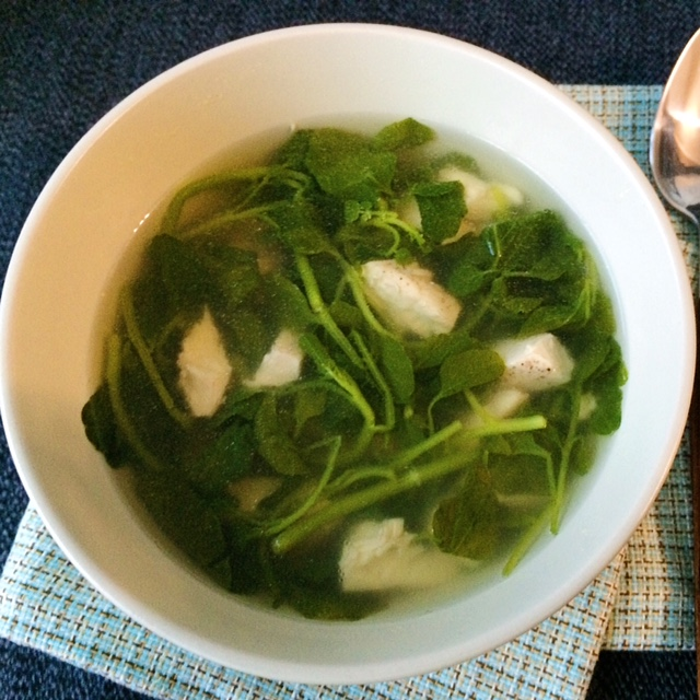 LisaEats Watercress Soup
