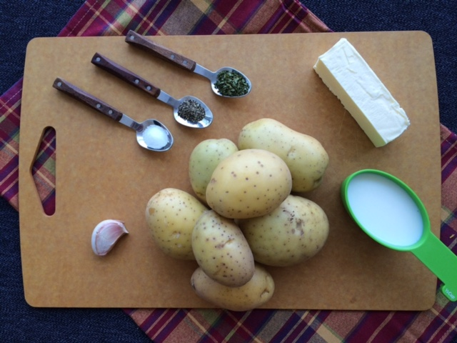 lisa eats mashed potatoes ingredients