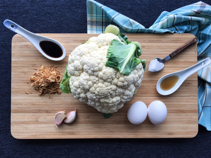 lisa eats cauliflower rice 10